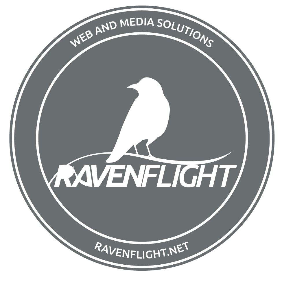Ravenflight web and media solutions.